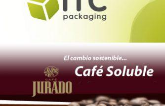 ITC Packaging, asociada a IBIAE, revoluciona los envases de Café Jurado: consigue un 64% menos de peso y mayor resistencia al impacto