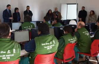 Nueva aula de informática de la Agencia de Desarrollo Local de Ibi