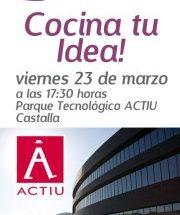Cocina tu Idea linktoStart en Parque Tecnológico ACTIU
