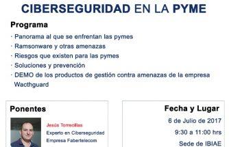 PANORAMA ACTUAL DE LA CIBERSEGURIDAD EN LA PYME