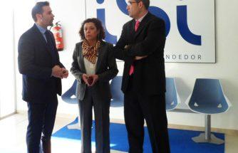 Alejandro Morant, Diputado de Promoción y Desarrollo local de la provincia de Alicante se reúne con los empresarios de Ibi