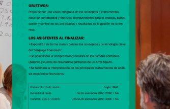 IBIAE y la Escuela de Negocios Fundesem realizan un curso de finanzas