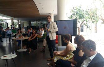 IBIAE participa en el encuentro empresarial en ACTIU con el Conseller Climent