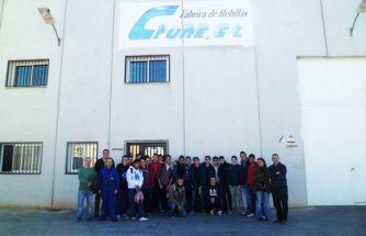 Alumnos de mecanizado del IES La Foia continúan visitando empresas de Ibi