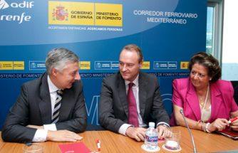 IBIAE asiste a la presentación del corredor mediterráneo a cargo del ministro de fomento