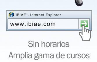 La web de IBIAE te ofrece un nuevo servicio de Formación Online