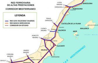 IBIAE disconforme ante el nuevo trazado del Corredor Mediterráneo