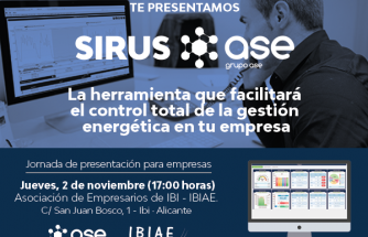 PRESENTACIÓN DE SIRUS, UNA HERRAMIENTA EL CONTROL TOTAL DE LA GESTIÓN ENERGÉTICA DE LA EMPRESA