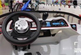 INJUSA e IR TECHNOLOGY adaptan un coche para el pequeño Izan