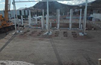 Seguimiento a las obras de la subestación eléctrica de Castalla