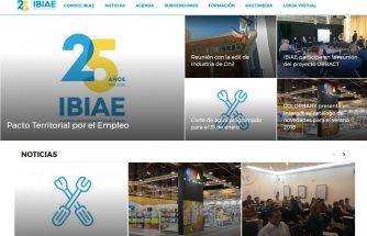 Nueva web de IBIAE