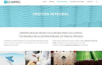 DEINPRO pone en marcha su web