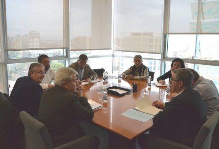 IBIAE expone al conseller Climent su preocupación por las obras de la subestación de Castalla