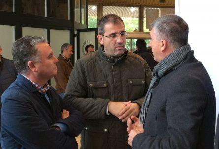 Reunión con el conseller de Economía Sostenible en Valencia