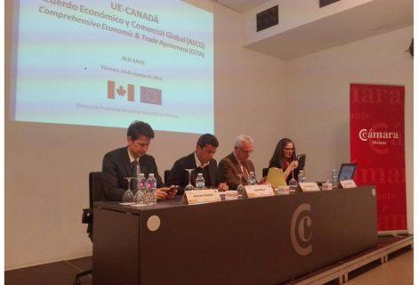 IBIAE asiste a una jornada para conocer los beneficios del tratado CETA