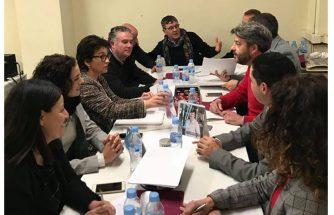 La Plataforma por la Reindustrialización Territorial  se reúne con la secretaria autonómica de Economía Sostenible