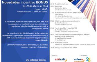Novedades incentivo bonus