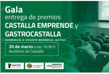 Gala Castalla Emprende, GastroCastalla y homenaje a Vicent Berbegal (ACTIU)