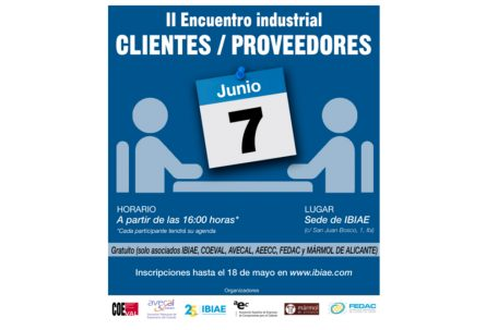 II Encuentro industrial clientes-proveedores en IBIAE