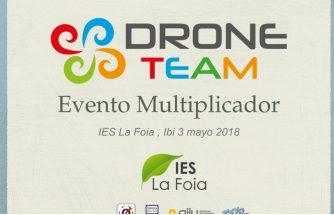 El IES La Foia celebra un Evento Multiplicador con motivo del proyecto europeo Erasmus+ Drone Team