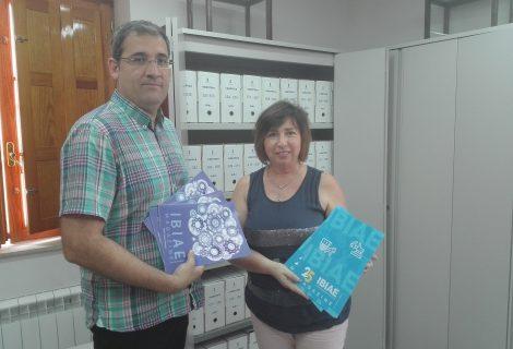 IBIAE entrega el IBIAE Magazine al Archivo Municipal