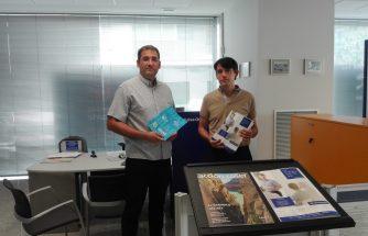 IBIAE entrega su Magazine a Caixa Ontinyent