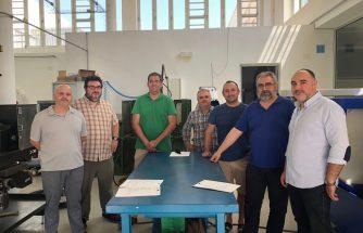 IBIAE y profesores del IES La Foia revisan asignaturas para adaptarlarlas a la realidad empresarial