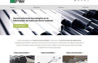 BORNAY rediseña todas las webs de su grupo empresarial