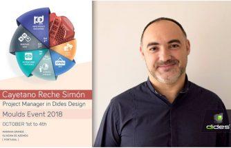 DIDES DESIGN impartirá una Master Class en la Moulds Event 2018 de Portugal