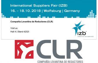 CLR expondrá en la International Suppliers Fair de Wolfsburgo en Alemania