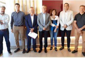 La Plataforma se reúne con el conseller Climent y la directora del IVACE