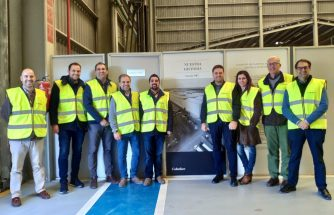 Empresarios de IBIAE regresan impresionados de su visita a Colorker