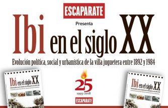 ÀREA OBERTA publica el libro 'Ibi en el siglo XX'