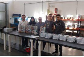 Meusburger dona material didáctico al IES La Foia