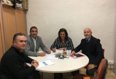 IBIAE entrega a la concejalía de Industria informes sobre clasificación de área industrial, mantenimiento de polígonos y formación