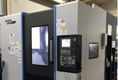 MIGUEL VIEIRA incorpora un centro de mecanizado Doosan NX6500II