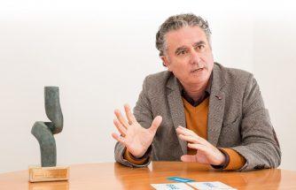 Pedro Prieto, portada de la revista Economía 3