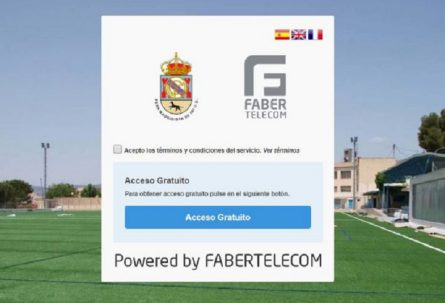FABERTELECOM patrocina la red wifi de la Peña Madridista de Ibi