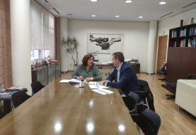 IBIAE explica a la directora general de FP líneas de actuación para abordar la necesidad de personal cualificado