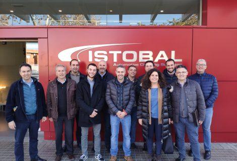 Empresarios de IBIAE conocen la industria 4.0 implantada en ISTOBAL