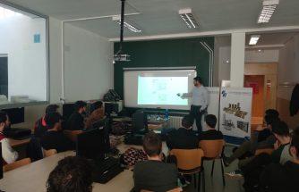 BRU Y RUBIO imparte una charla en el IES La Foia