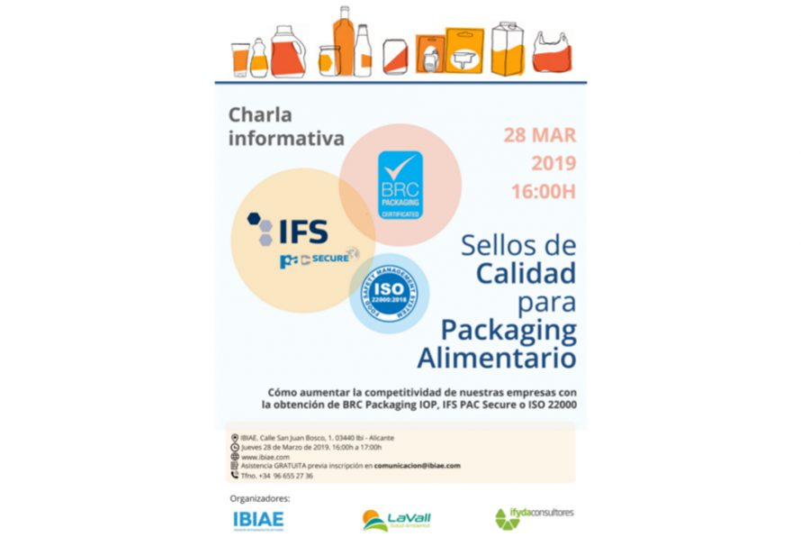 Jornada de sellos de calidad para packaging alimentario