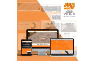 MIGUEL VIEIRA actualiza su web