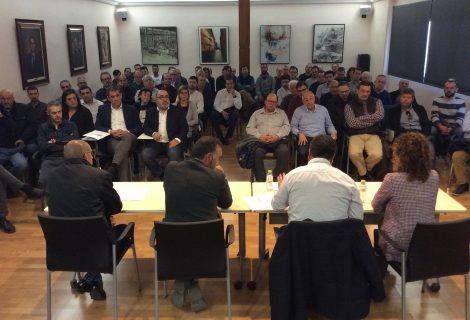 Reunión para conocer la situación del suelo industrial en Ibi