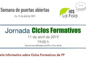 Jornada de Ciclos Formativos en el IES La Foia