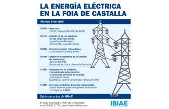 La energía eléctrica en la Foia de Castalla