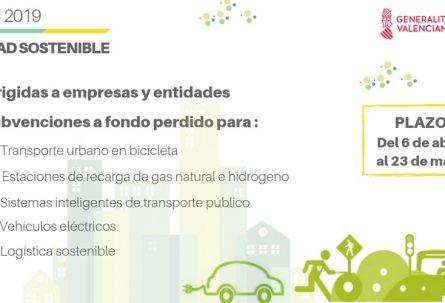 Ayudas en materia de movilidad sostenible