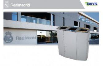El Real Madrid equipa sus nuevas instalaciones con CERVIC ENVIRONMENT