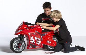 INJUSA fabrica la moto de Marc Márquez