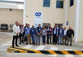 PLASTIC OMNIUM muestra sus instalaciones y procesos 4.0 a empresas de IBIAE